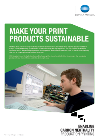 make you print sustainable whitepaper